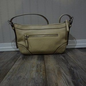 Tan Coach Shoulder Bag